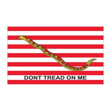 Mitchell Proffitt Don't Tread On Me 3X5 Flag