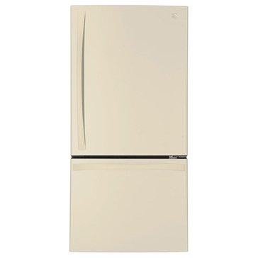 Kenmore Elite 24.1-Cu.Ft. Bottom-Freezer Refrigerator, Bisque (46-79044)