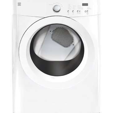 Kenmore 7.0-Cu.Ft. Electric Dryer w/ Wrinkle Guard, White (26-81122)
