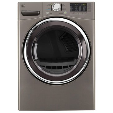Kenmore 7.4-Cu.Ft.. Electric Dryer w/ Steam, Metallic Silver (26-81383)