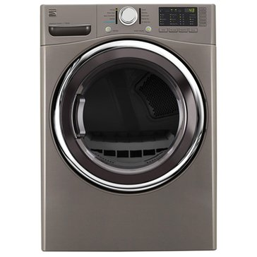 Kenmore 7.4-Cu.Ft.. Gas Dryer w/ Steam, Metallic Silver (26-91383)