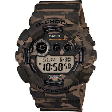 Casio G-Shock Men's Camo Digi Watch GD120CM-5, Camo 55mm