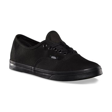 Vans Authentic Lo Pro Unisex Skate Shoe Black/ Black