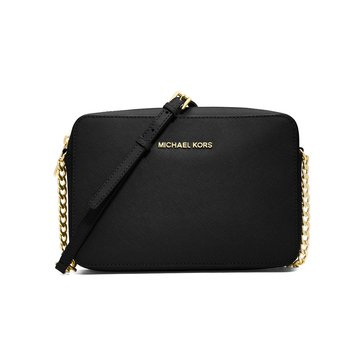 Michael Kors Jet Set Travel Large East/West Crossbody Black