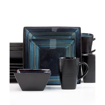 Oneida Adriatic Blue 16-Piece Dinnerware Set