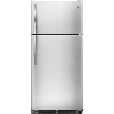 Kenmore 18-Cu.Ft. Top-Freezer Refrigerator, Stainless Steel (46-60603)