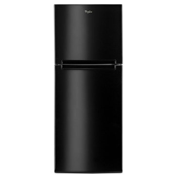 Whirlpool 11-Cu.Ft. Top-Freezer Refrigerator, Black (WRT111SFDB)
