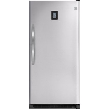 Kenmore Elite 20.5-Cu.Ft. Upright Freezer, Stainless Steel (46-27003)