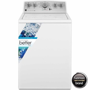 Kenmore 4.3-Cu.Ft. Top Load Washer w/ Exclusive Triple Action Impeller, White (26-25132)
