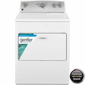 Kenmore 7.0-Cu.Ft. Electric Dryer w/ SmartDry Plus Technology, White (26-65132)