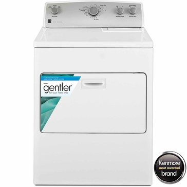 Kenmore 7.0-Cu.Ft. Gas Dryer w/ SmartDry Plus Technology, White (26-75132)