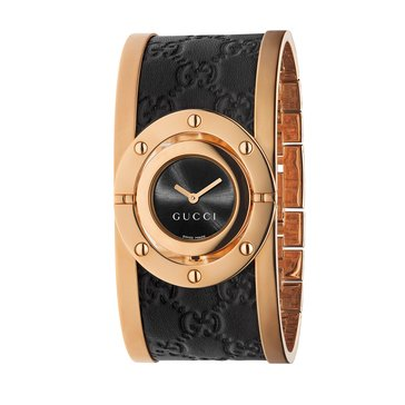 Gucci Women's Twirl Rose Gold Tone Watch, 24mm