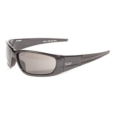 5.11 Men's Climb Polarized Black Lens Sunglasses