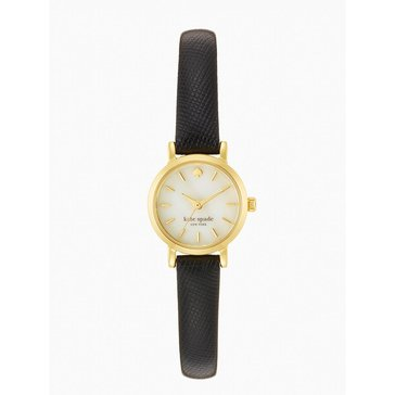 Kate Spade Women's New York Metro Leather Strap Watch 20mm