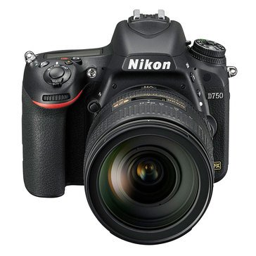Nikon D750 FX-Format DSLR Camera with 24-120mm Lens