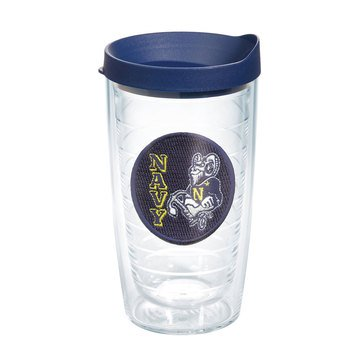 Tervis Tumbler US Naval Academy Patch 16oz Tumbler w/Navy Lid