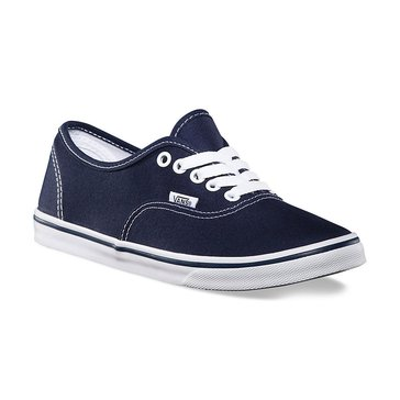 Vans Authentic Lo Pro Unisex Skate Shoe Navy/ True White