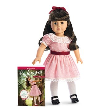 American Girl Samantha Doll and Paperback Book