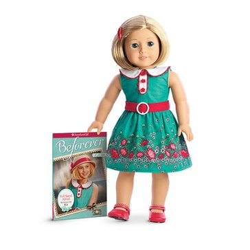 American Girl Kit Doll and Paperback Book