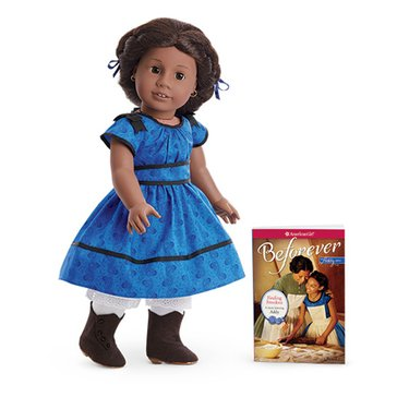 American Girl Addy Doll And Paperback Book