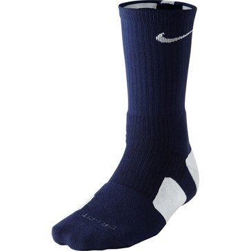 Nike Elite Basketball Crew Sock-Midnight NavyWhite - Size L