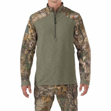 5.11 Tactical Men's Realtree Rapid Response 1/4 Zip