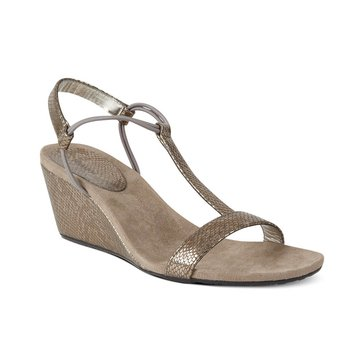 Style & Co Mulan Women's Wedge Sandal Pewter