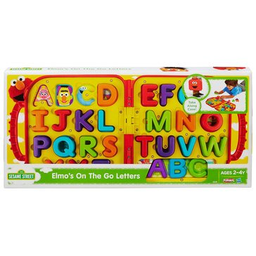 Playskool Sesame Street Elmo's on the Go Letters Set