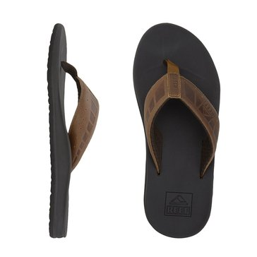 Reef Phantom Men's Leather Thong Sandal Brown/ Tan