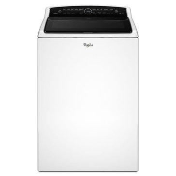 Whirlpool 5.3-Cu.Ft. Cabrio Top Load Washer, White (WTW8000DW)