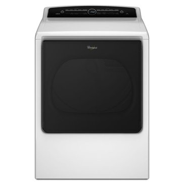 Whirlpool 8.8-Cu.Ft.Cabrio Gas Dryer, White (WGD8000DW)