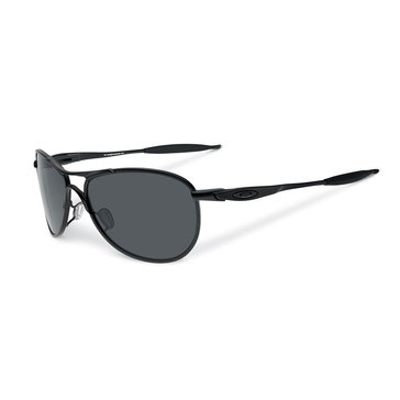 Oakley Men's Standard Issue Ball Crosshair Matte Black and Grey Sunglasses 61mm
