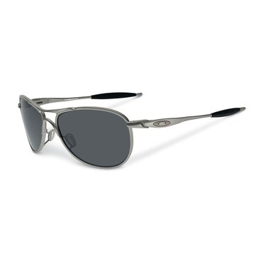 Oakley Men's Standard Issue Ballistic Crosshair Sunglasses OO4069-02, Gunmetal/ Grey 61mm