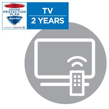 2-Year Television Replacement Plan  $0-$49.99