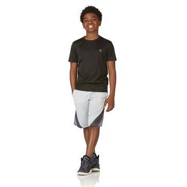 Champion Little Boys' Power Train Black Tee