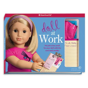 American Girl Doll At Work Activity Book
