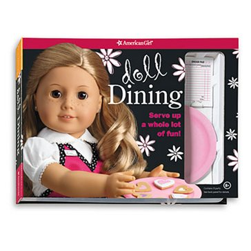 American Girl Doll Dining Activity Book