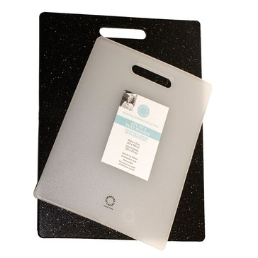 Martha Stewart Black And White Polymer Cutting Board