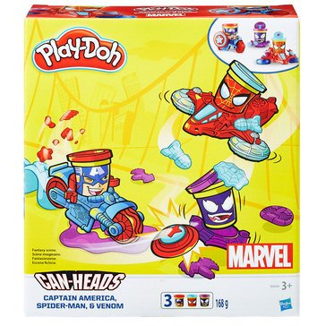 Play-Doh Marvel Super Heroes Can-Heads Vehicles