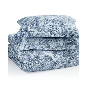 Tommy Hilfiger Canyon Paisley Indigo Duvet Set - Full/Queen