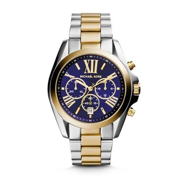 Michael Kors Women's Two Tone Stainless Steel Watch 43mm