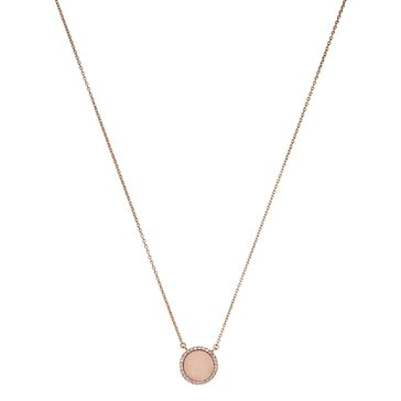 Michael Kors Rose Gold Tone Blush Pendant Necklace