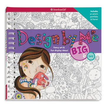 American Girl Design Be Me: Big And Tiny Activity Book
