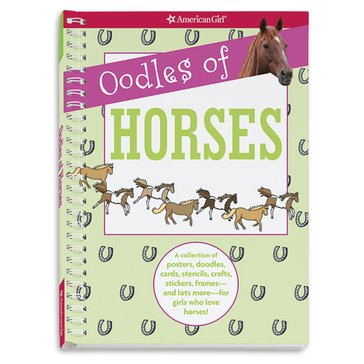 American Girl Oodles Of Horses Book