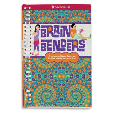 American Girl Brain Benders Activity Book