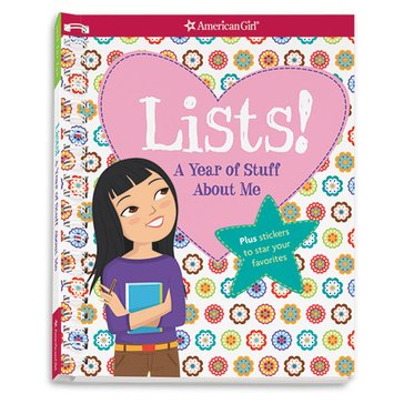 American Girl Lists A Year Of Stuff About Me Activity Book