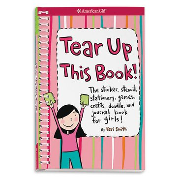 American Girl Tear Up This Book Activity Book