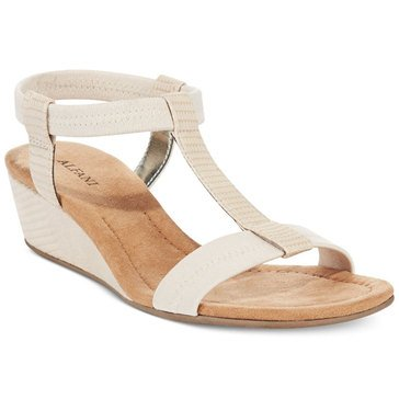 Alfani Voyage Women's Wedge Sandal Pale