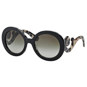 Prada Women's Timeless Conceptual Opal Gray Sunglasses 56mm