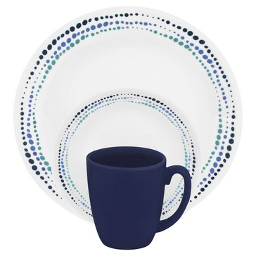 Corelle Ocean Blues 16-Piece Dinnerware Set